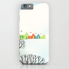 Snowy Little Town iPhone 6s Slim Case