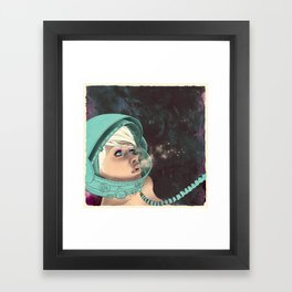Bodies in Space: Phase Change Framed Art Print