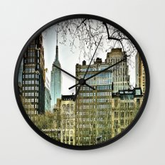 The view from Bryant Park Wall Clock