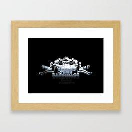 design your band image Framed Art Print