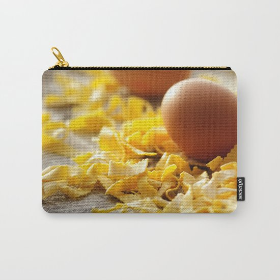 Fresh italian Pasta with egg Carry-All Pouch