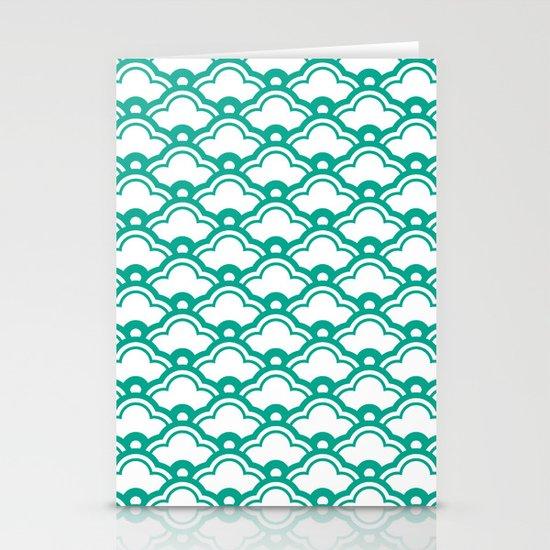 matsukata in emerald Stationery Cards