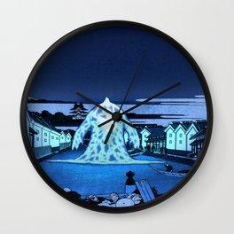 36 Views of Mount Fuji Avatar Ocean Spirit Wall Clock