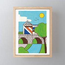 MADRID RÍO 1 Framed Mini Art Print