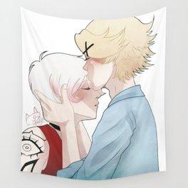 head kiss Wall Tapestry