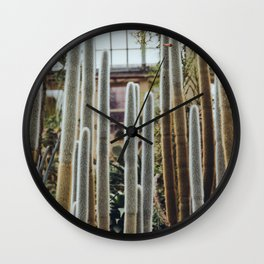 Behold, A Mess of Cacti Wall Clock