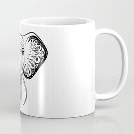 Elephant Zen Doodle Coffee Mug
