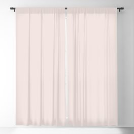 Pastel Pink Solid Color Inspired by 2020 Color of the Year First Light 2102-70 Blackout Curtain