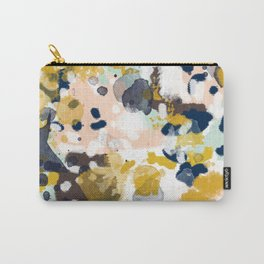 Sloane - abstract painting gender neutral baby nursery dorm college decor Carry-All Pouch