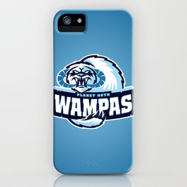 Planet Hoth Wampas - Blue iPhone Case