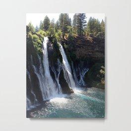 McArthur-Burney Falls Metal Print
