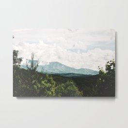 Smoky Peak Metal Print