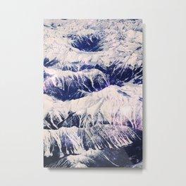 The Mountains Climbed Metal Print