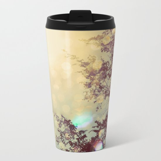 golden sky Metal Travel Mug
