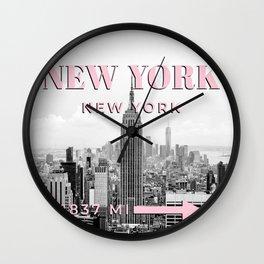 New York Photo Art, New York Wall Art, Decor, Modern, Travel Photography, New York Poster, Fashion Wall Clock
