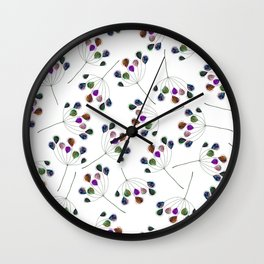 On the wind Wall Clock