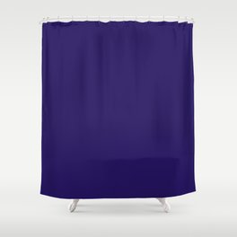 Baltimore Football Team Dark Blue Solid Mix And Match Colors Shower Curtain