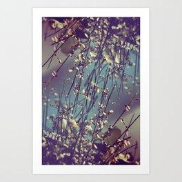 Flower Flip Art Print