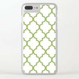 Pantone 2017, Greenery 1 Clear iPhone Case