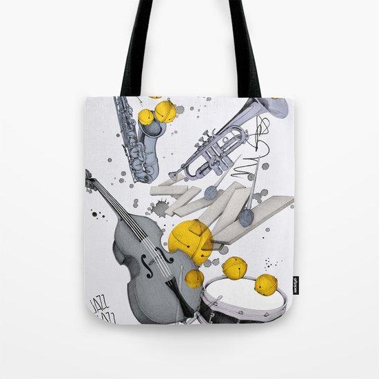 Jazz Jazz Jazz Tote Bag