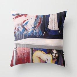 Violetta 641 (Don Giovanni) Throw Pillow