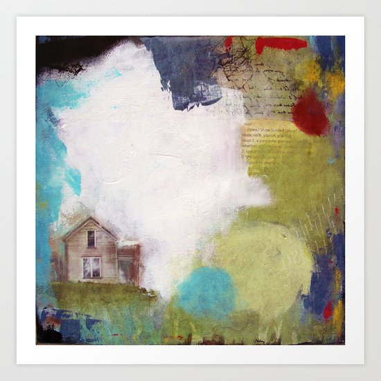 Love is a Place Art Print
