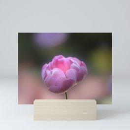 I am Pink Mini Art Print