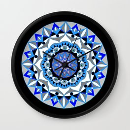 My Peace Mandhala | Secret Geometry | Energy Symbols Wall Clock