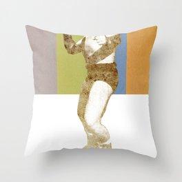 GORILLA PUNCH! Throw Pillow