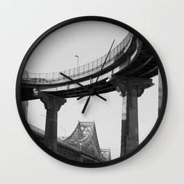 Jacques-Cartier bridge Wall Clock