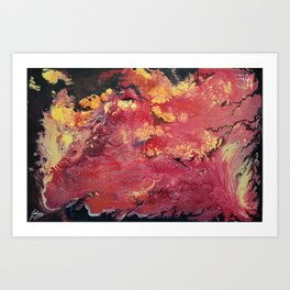 Hues of Autumn Art Print