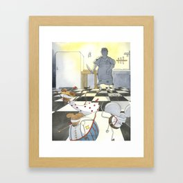 The Farmer's Wife Framed Art Print