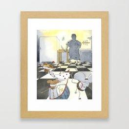 The Farmer's Wife Framed Art Print