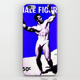 Male Figure 50 cents  iPhone Skin