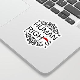 Human Rights Sticker