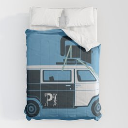 The Blues Brothers' Van Comforters