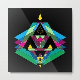 GNOME [ black ] Metal Print