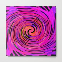 Rotating in Circles Series 02 Metal Print