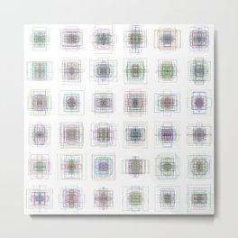 6x6 07 - gallery of modern gyroscopes Metal Print