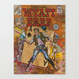 Wyatt Earp Canvas Print