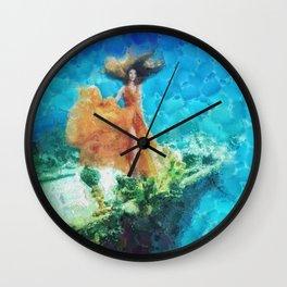 Into Deep Wall Clock