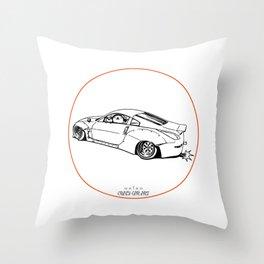 Crazy Car Art 0200 Throw Pillow