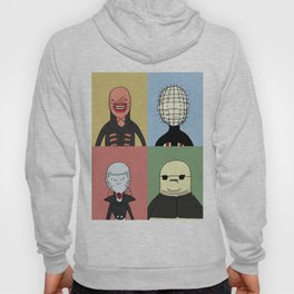 Adventure Time with Cenobites from Hellraiser Hoody
