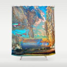 Aqua Play Shower Curtain