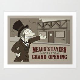 Meaux's Tavern Art Print