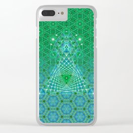 Lifeforms | Sacred geometry Clear iPhone Case