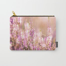 Purple heather close-up Carry-All Pouch