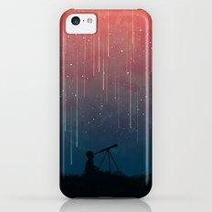 Meteor rain iPhone 5c Slim Case