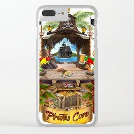 Pirates Cove Clear iPhone Case