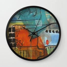 Magic carpet - Tapis volant Wall Clock